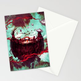 fantasy world Stationery Cards