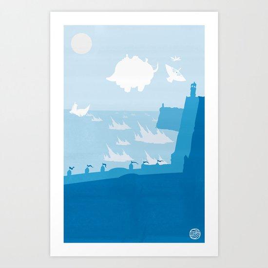Avatar - Water Book Art Print