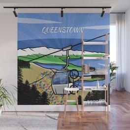 Queenstown NZ Wall Mural