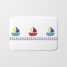 boats and anchors Bath Mat