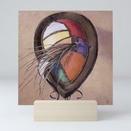 Color Festival — Vintage Hat Painting Mini Art Print