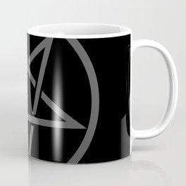 Satanic Pentagram (gray matter edit) Coffee Mug