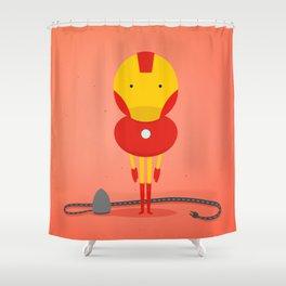 Ironman: My ironing Hero! Shower Curtain
