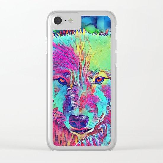 Animal ArtStudio 1016b Clear iPhone Case