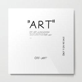''Art'' Metal Print