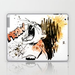 LIONESS - animal portrait serie Laptop & iPad Skin