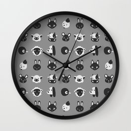 animals ! Wall Clock