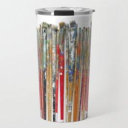 Twenty Years of Paintbrushes Travel Mug
