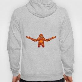 Orangutan Knot Hoody