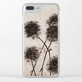 The Dark Flowers Of Discord Go To Seed Clear iPhone Case