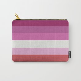 Lesbian pride flag Carry-All Pouch
