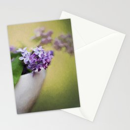 A Touch of Lilacs Stationery Cards