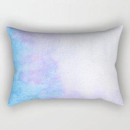 Periwinkle Mood Rectangular Pillow