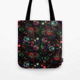 Gallifreyan Watercolor Pattern Tote Bag