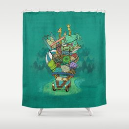 All Needed! Shower Curtain