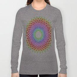 Rainbow Mandala Long Sleeve T-shirt