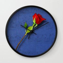 Sount of Love/Lied der Liebe Wall Clock