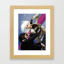 Atomic Blonde Framed Art Print