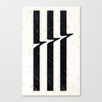glitch Canvas Prints featuring Glitch by Chad De Gris