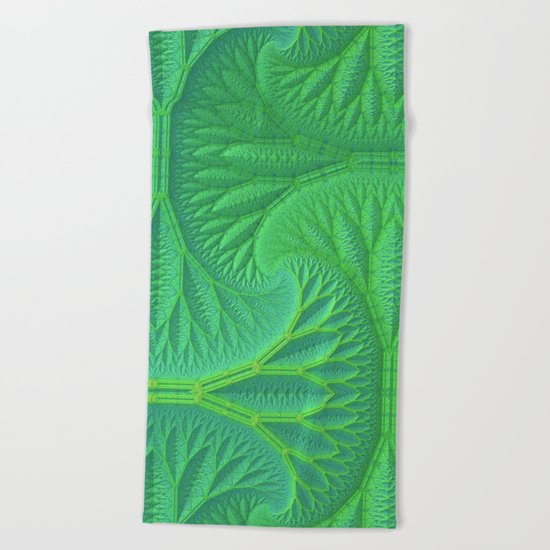 Greenery Beach Towel