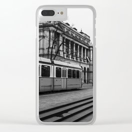 Passing. Clear iPhone Case