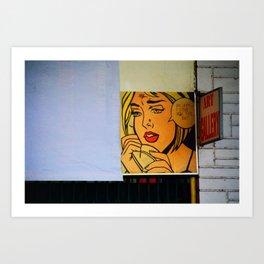 Pop Street Art Art Print