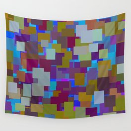 color rectangles 003 Wall Tapestry