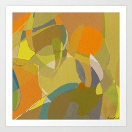 Jar Fragment 6 Art Print