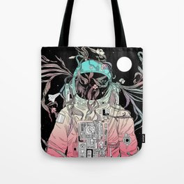 Life is Invading My Space Tote Bag