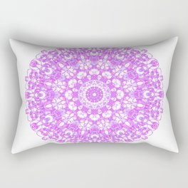 Mandala 12 / 1 eden spirit pink Rectangular Pillow
