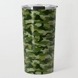 Forest Camouflage Travel Mug