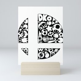 Symbol SmashBall Mini Art Print