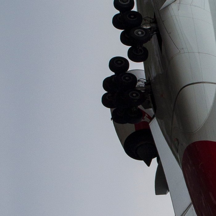 Qantas Airbus A380 Leggings
