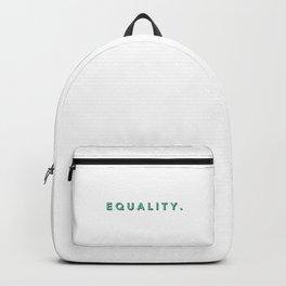 EQUALITY. Backpack
