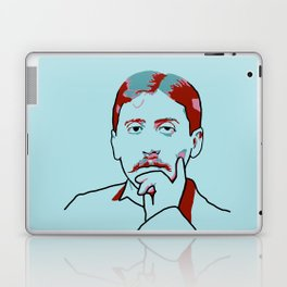 Marcel Proust Laptop & iPad Skin