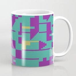 Abstract 8 Bit Art Coffee Mug