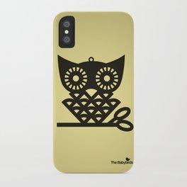Yellow Hoot iPhone Case