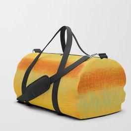 Red Dawn (Homage to Rothko) Duffle Bag