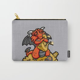 Dmitri the Dragon Loves Carry-All Pouch