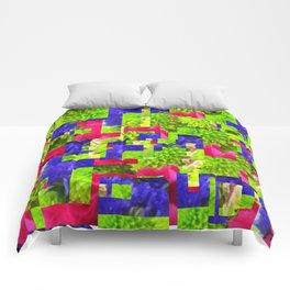 Flower play Comforters