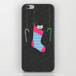 Kitten Stocking iPhone Skin