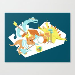 The Jurassics Canvas Print