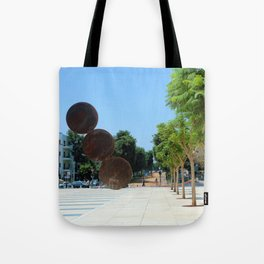 Tel Aviv photo - Habima Square - Israel Tote Bag