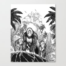 The Lost City of the Jungle Apes Canvas Print