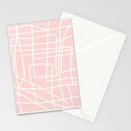 Lost Lines in Pink Stationery Cards