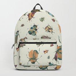 Scarabaeidae   Watercolor Scarab Pattern Backpack
