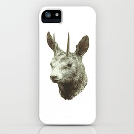 Goat Thing Guy Creature Buddy iPhone Case
