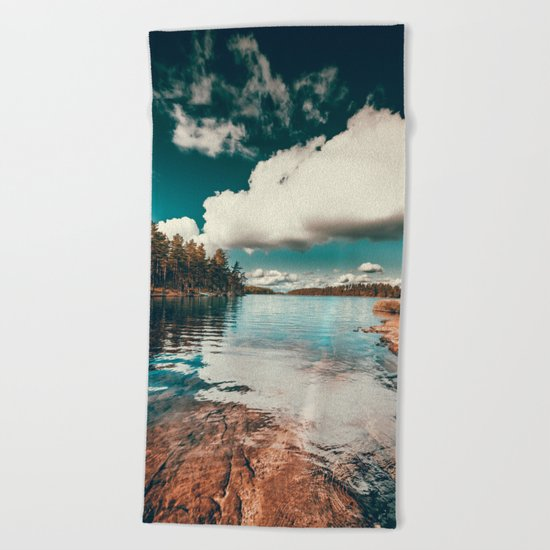 Belle Svezia Beach Towel