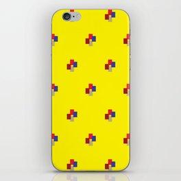 Geometrix / Yellow iPhone Skin