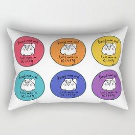 Pretty Kitty Rectangular Pillow
